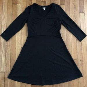 Merona Simple Black Dress